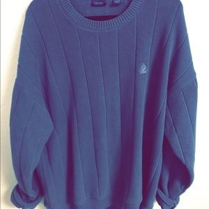 IZOD vintage oversized men's sweater